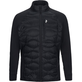 Peak Performance M's Helium Down Hybrid Jacket Black